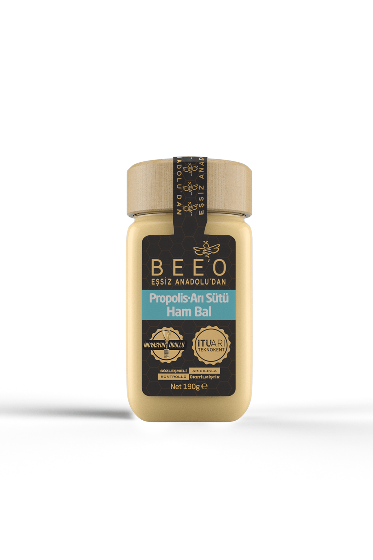 Beeo Propolis - Arı Sütü - Ham Bal 190 G (yetişkin) 0
