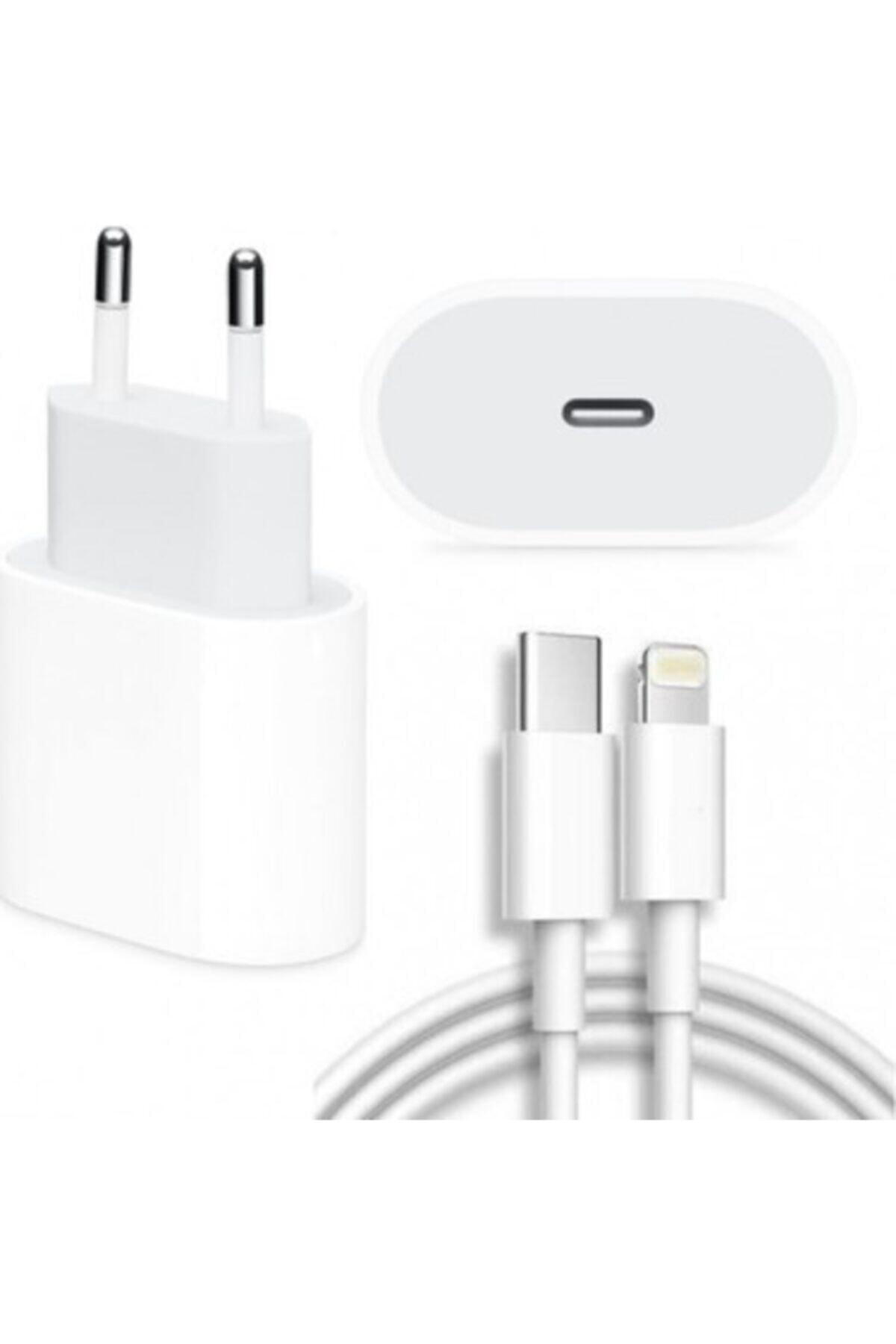 Apple Iphone 11 / 11 Pro / 11 Pro /12 Pro Uyumlu (20W) Hızlı Şarj Aleti Ve Kablosu.