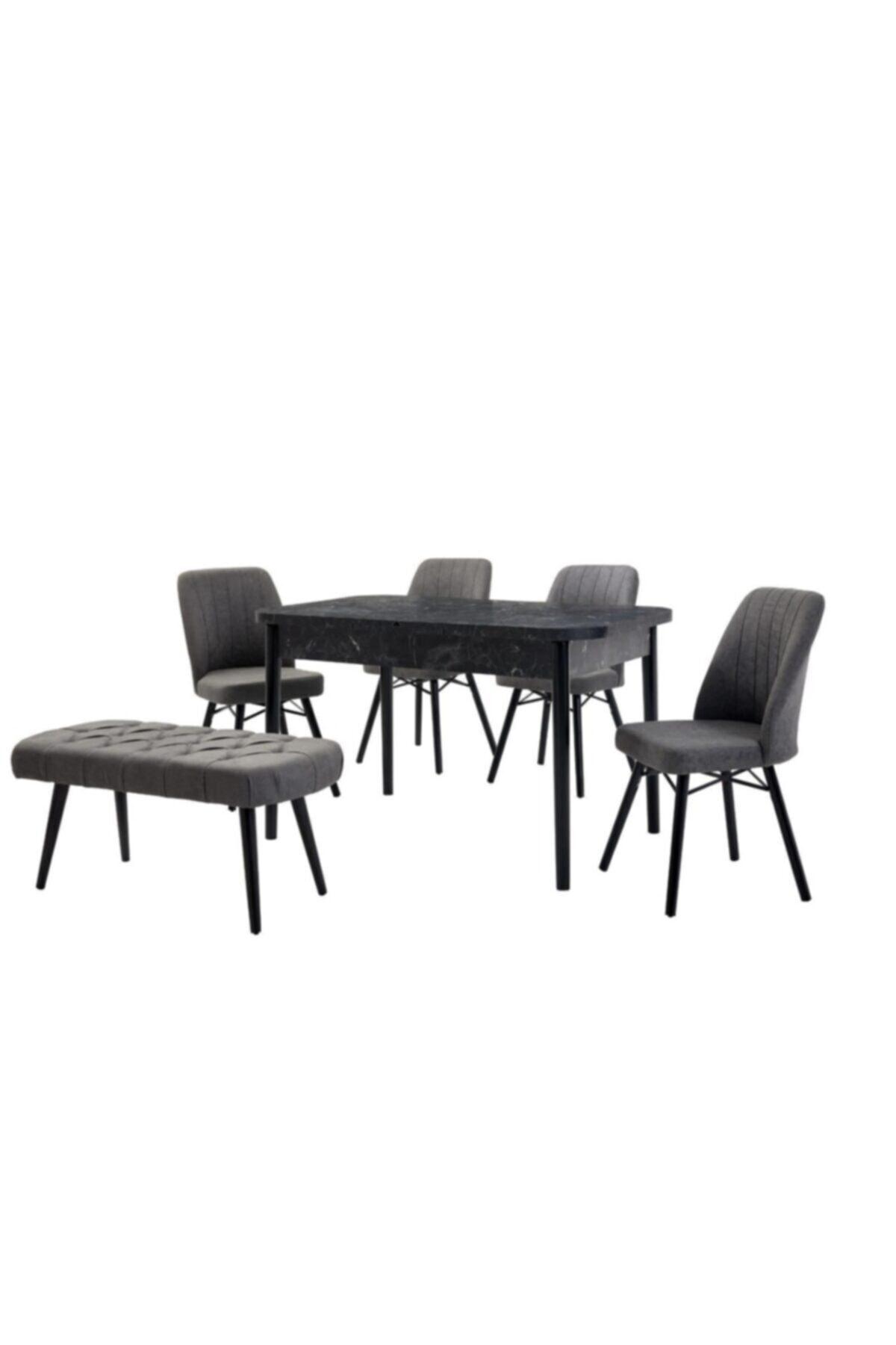 Mutfak Masası Salon Masası Masa Sandalye Takımı Açılır Masa Bench Sandalye