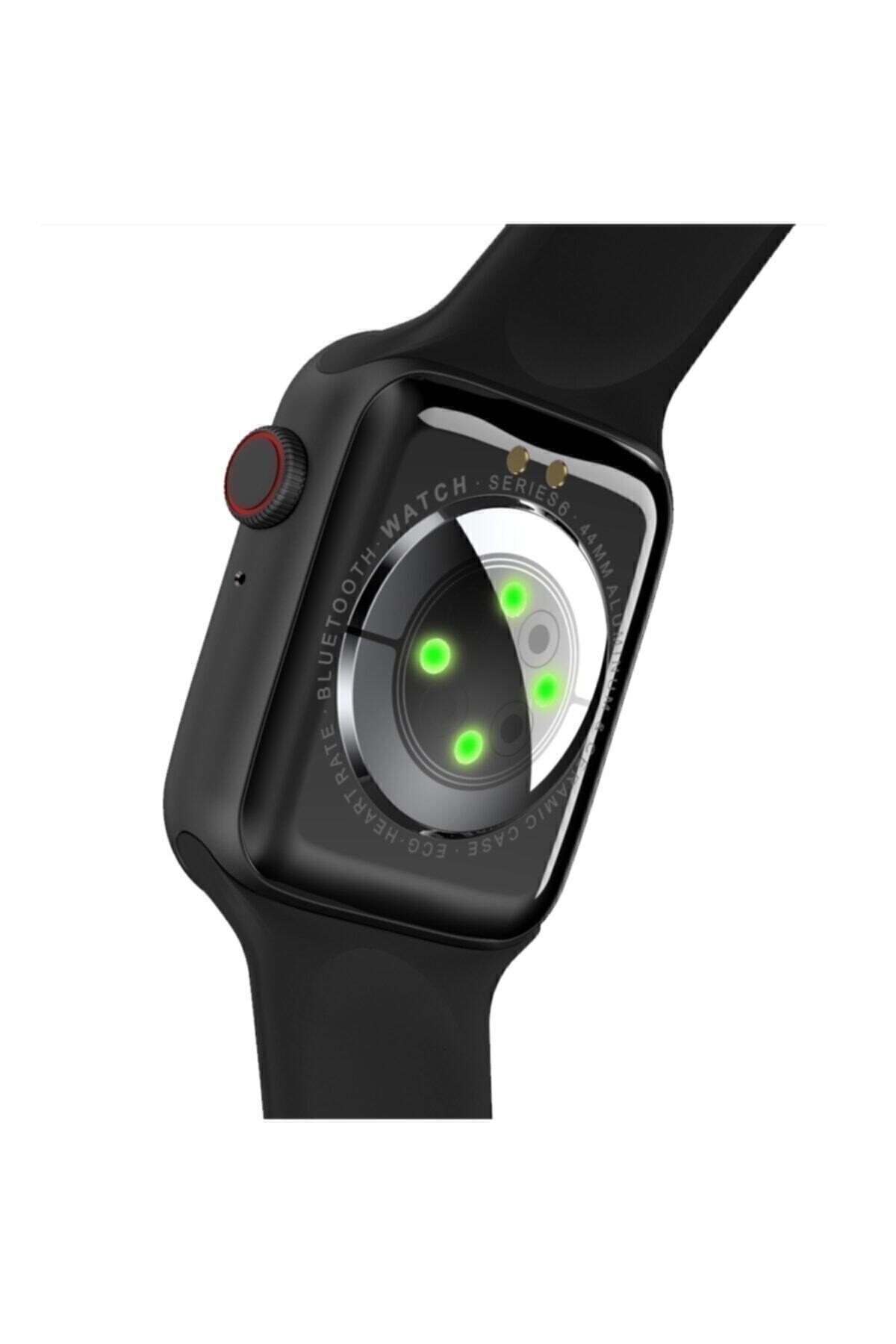 SmartWatch Watch 6 Pro Akıllı Saat Smart Watch Ateş Ve Nabız Ölçer Çok Fonksiyonlu Ios Ve Android Uyumlu
