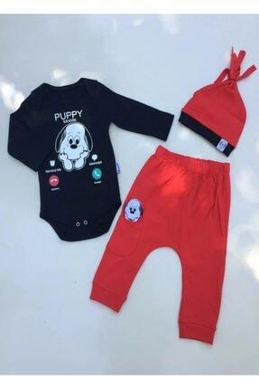 Erkek Bebek Badili 3 Parça Takım %100 Pamuk Ürün resmi