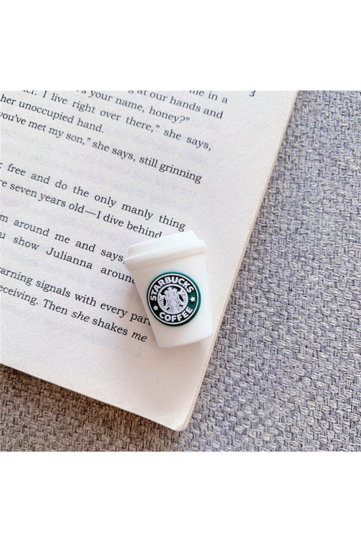 Sevimli Silikon Kablo Koruyucu Starbucks Kahve