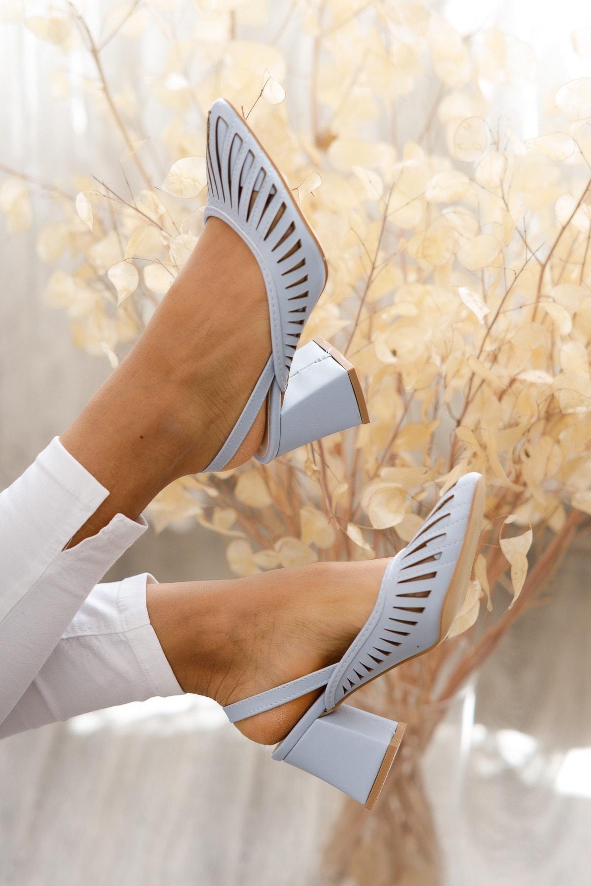 Kadın Topuklu Ayakkabı Md1042-119-0005