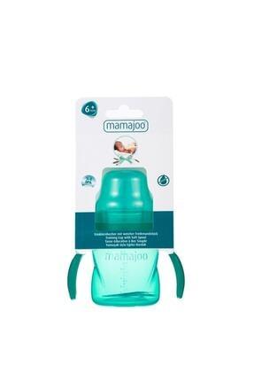 Mamajoo Kulplu Eğitici Bardak 160 ml / Yeşil 3