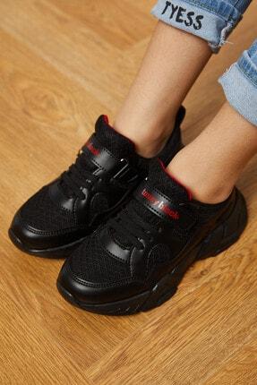Tonny Black Siyah Çocuk Spor Ayakkabı Tb0019 2