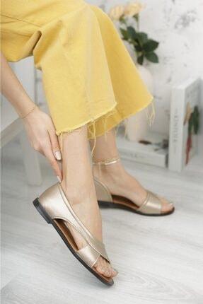 Moda Frato Kadın Sandalet Yazlık Ayakkabı Babet 2