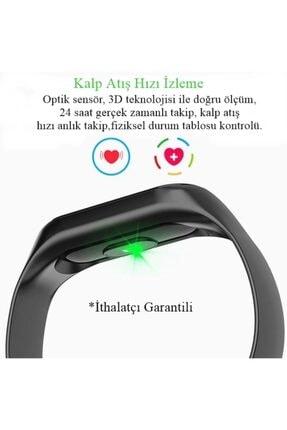 DRN Unisex Siyah Angel Eye M3 Band Spor Modları, Nabız Ölçer Akıllı Bileklik Akıllı Saat M3band 4