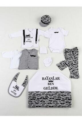 Miniworld Gri Beyaz Ben Geldim 10 Lu Yenidoğan Erkek Bebek Hastane Çıkışı 0