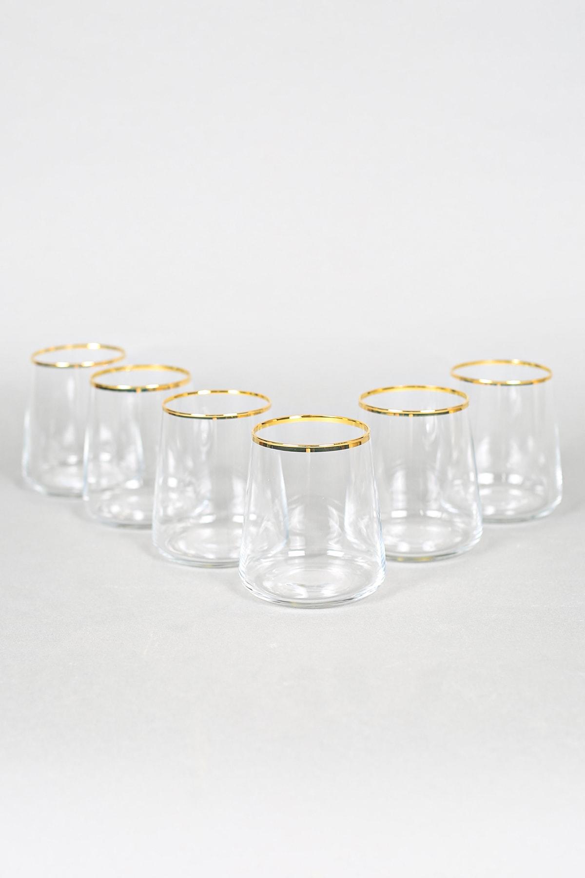 Avantgarde Gold 6'lı Su Bardağı Seti 380 Cc