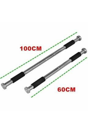 Raicon Barfiks Çubuğu 60-100 Cm Ayarlanabilir Barfiks Çekme Demiri Barfiks Aleti 2