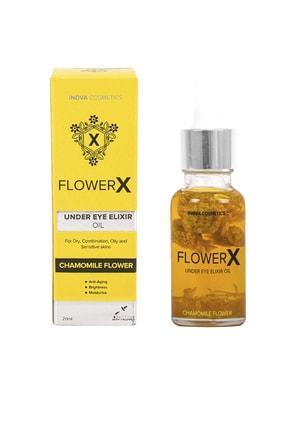 FLOWERX Gerçek Papatya Taneli Göz Serumu Kırışıklık Ve Morluk Karşıtı 0