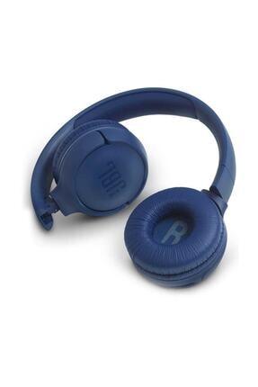 JBL T500BT Kablosuz Kulaküstü Kulaklık Mavi 3