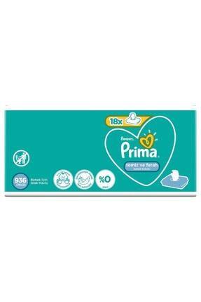 Prima Islak Havlu Temiz ve Ferah 18'li - Fırsat Paketi 936 Yaprak 1