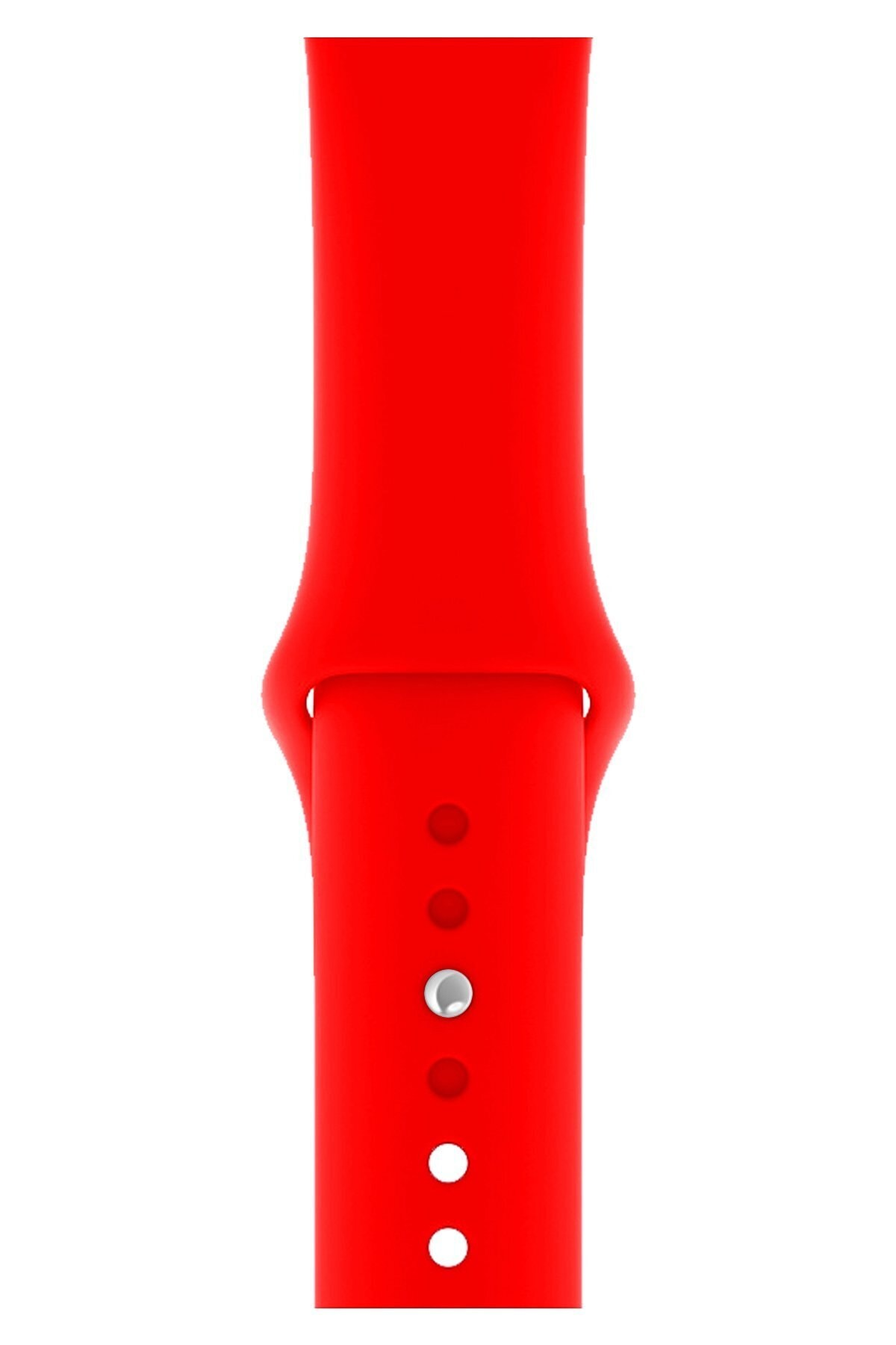 Watch 2 3 4 5 6 Se Nike 42mm 44mm Uyumlu Kordon Kayış Bileklik Klasik Kaliteli Spor Silikon Band