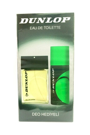 Dunlop Klasik Yeşil 100ml Edt ve 150ml Deo Erkek Parfüm Seti  8690587202304 0