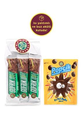 Kahve Dünyası 8'li Sütlü Gofrik Ve Popçik Patırdak Çikolata 40g 0