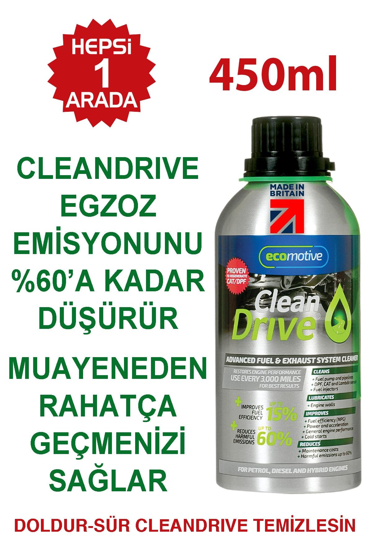 Cleandrive Benzin Katalizör-egr-enjektör-sensör Temizleyici 450ml