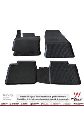 Wöller Toyota Corolla Paspas 2013 2018 Arası 3d Havuzlu Paspas 1