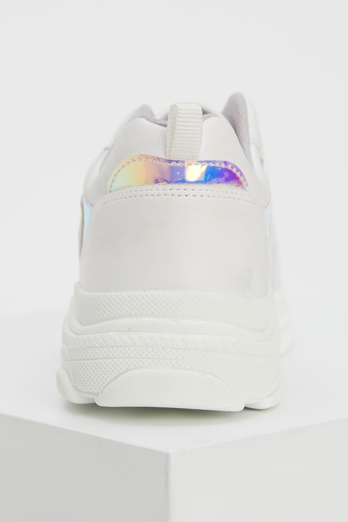 Defacto Kız Çocuk Bağcıklı Spor Ayakkabı 2