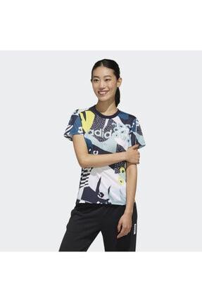 adidas W FARM T Kadın Tişört 0