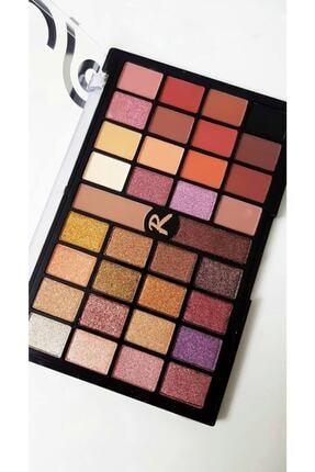 Roesıa Rose Cosmetics 34'lü Nude Diva Göz Farı Eyeshadows 0