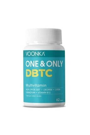 Voonka One Only Dbtc Multivitamin 62 Tablet 0