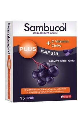 Sambucol Plus 15 Kapsül 0