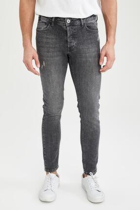 Martin Super Skinny Düşük Bel Dar Paça Siyah Jean Pantolon S8519AZ21SP