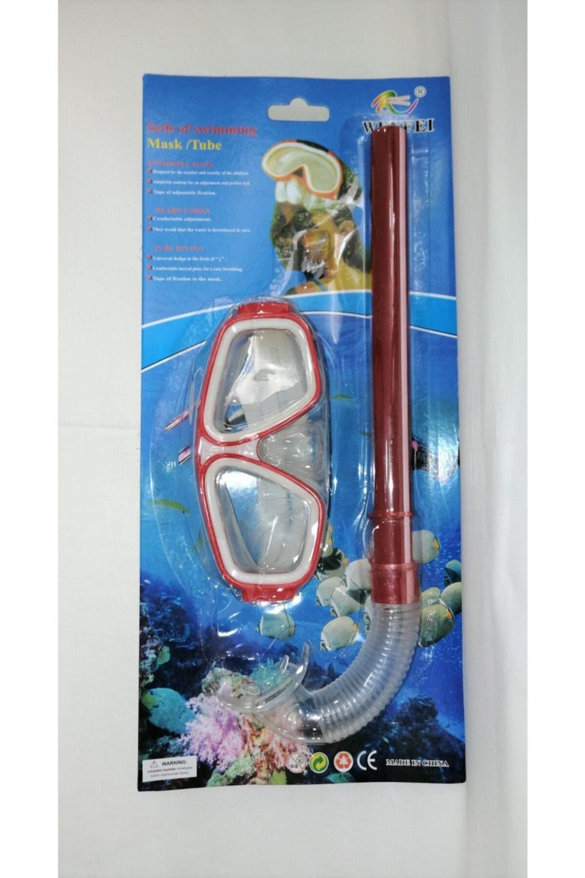 Şnorkel Set - Kırmızı