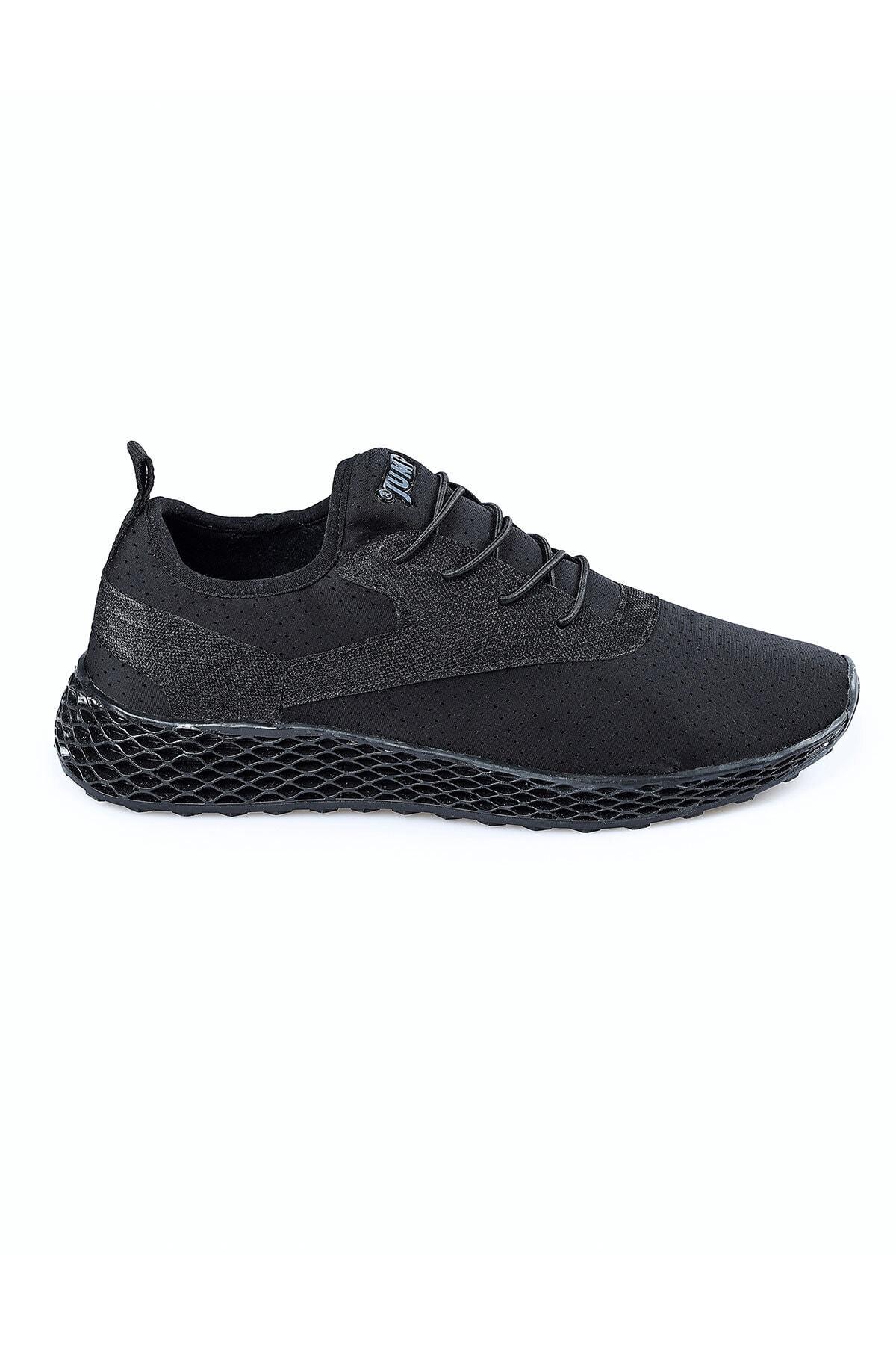 Kadın Siyah Günlük Ortopedik Spor Ayakkabı  24897