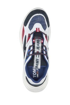 Tommy Hilfiger Erkek Kırmızı Sneaker Fashıon Chunky Runner EM0EM00408 2