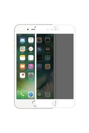 Telehome Iphone 7 Plus 8 Plus Hayalet Kırılmaz Cam Ekran Koruyucu Beyaz 0