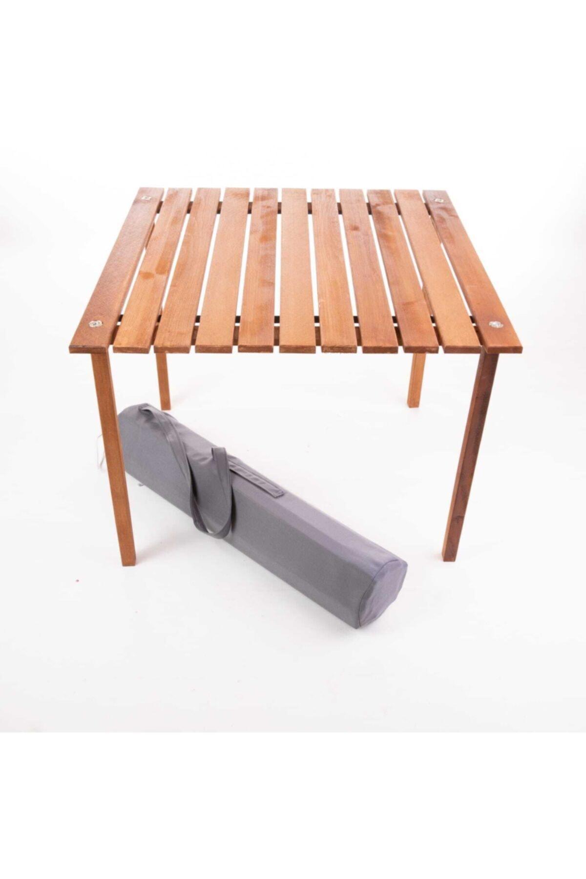 Aura Çantalı Rulo Katlanabilir Kamp - Piknik Masası 70x70