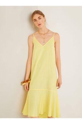 Picture of Fırfırlı Koton Elbise
