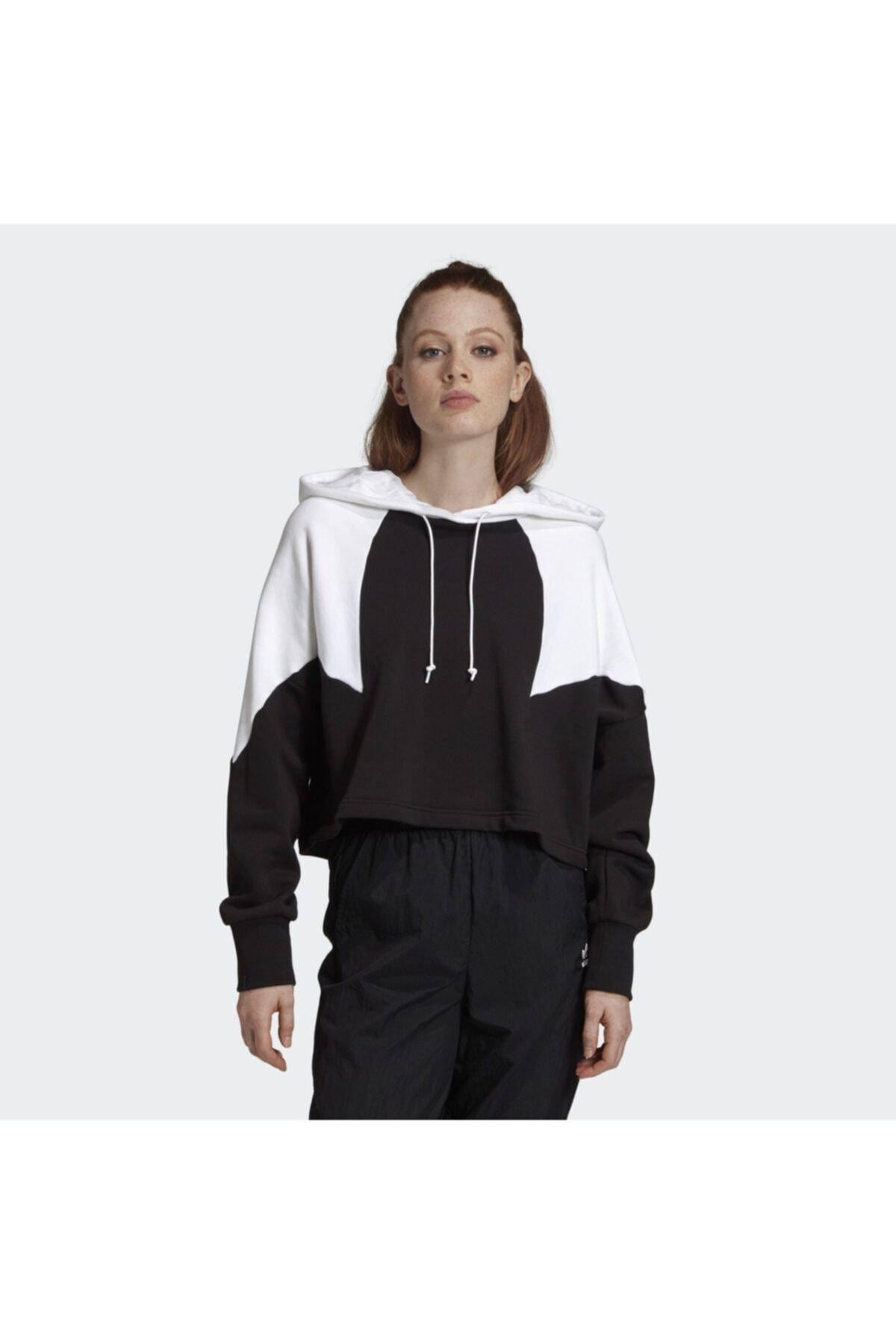 Kadın Siyah Large Logo Sweatshirt