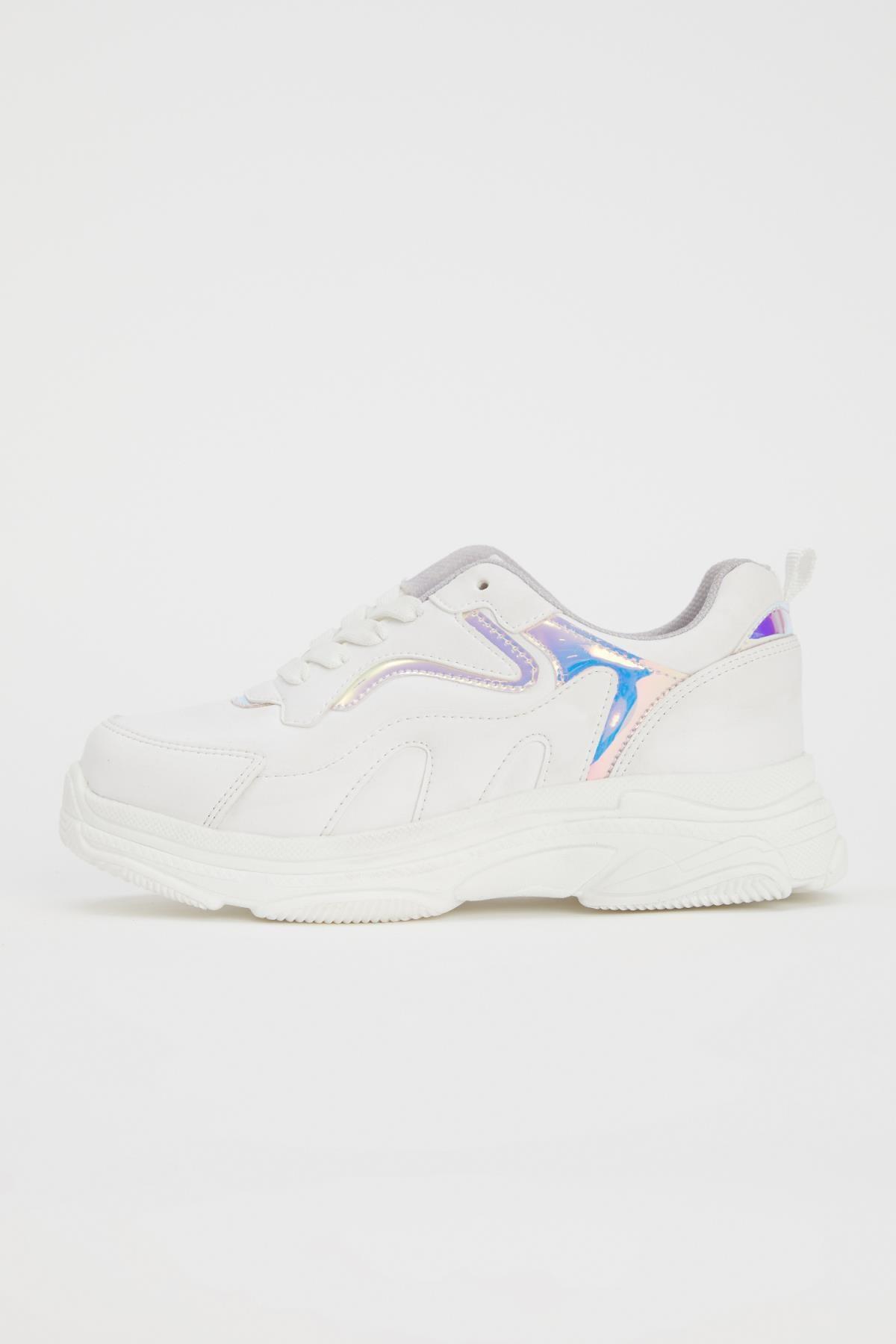 Defacto Kız Çocuk Bağcıklı Spor Ayakkabı 0