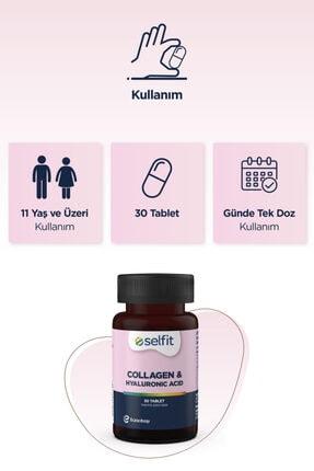 Eczacıbaşı Selfit Collagen & Hyaluronic Acid 30 Tablet -  Son Kullanma Tarihi: 04.2023 4