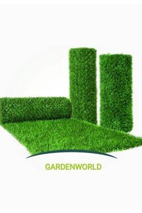 gardenworld Çim Çit Örgü Telli Bahçe Çiti 80 cm X 5 mt 0