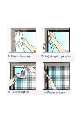 Yenimiyeni Cırt Cırtlı Pencere Sinekliği Kendin Yap 100 X 150 3