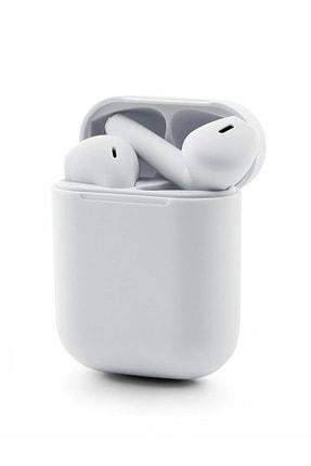 TrkTech Airpods 2. Nesil i12 Beyaz Bluetooth Kulaklık Tüm Telefonlar İle Uyumlu 1