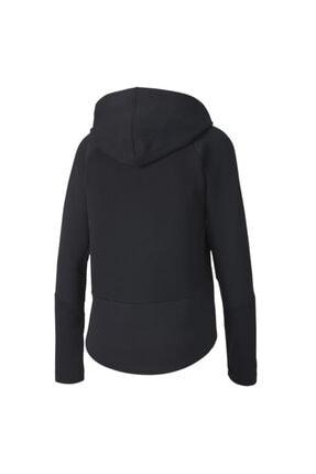 Puma EVOSTRIPE FZ Siyah Kadın Sweatshirt 101119404 4