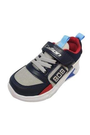 099 Sneakers Fashion Filet Ayakkabı Buz Laci Kırmızı resmi