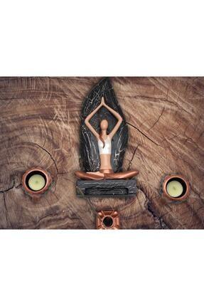 By Damla Collection Yoga Yapan Kız Tütsülük Ve Mumluk 4 2