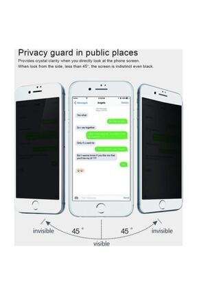Telehome Iphone 7 Plus 8 Plus Hayalet Kırılmaz Cam Ekran Koruyucu Beyaz 2