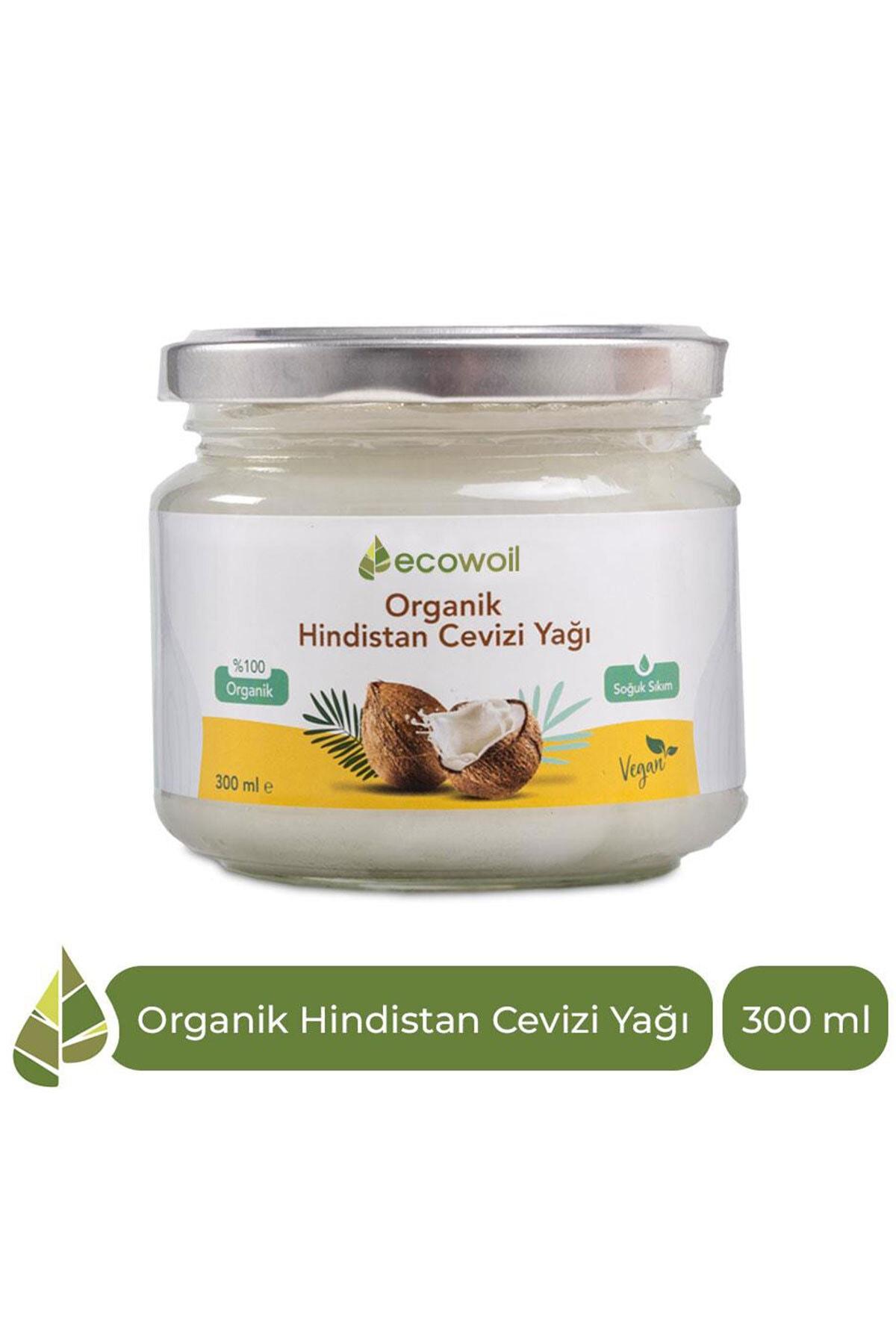 Organik Hindistan Cevizi Yağı 300ml