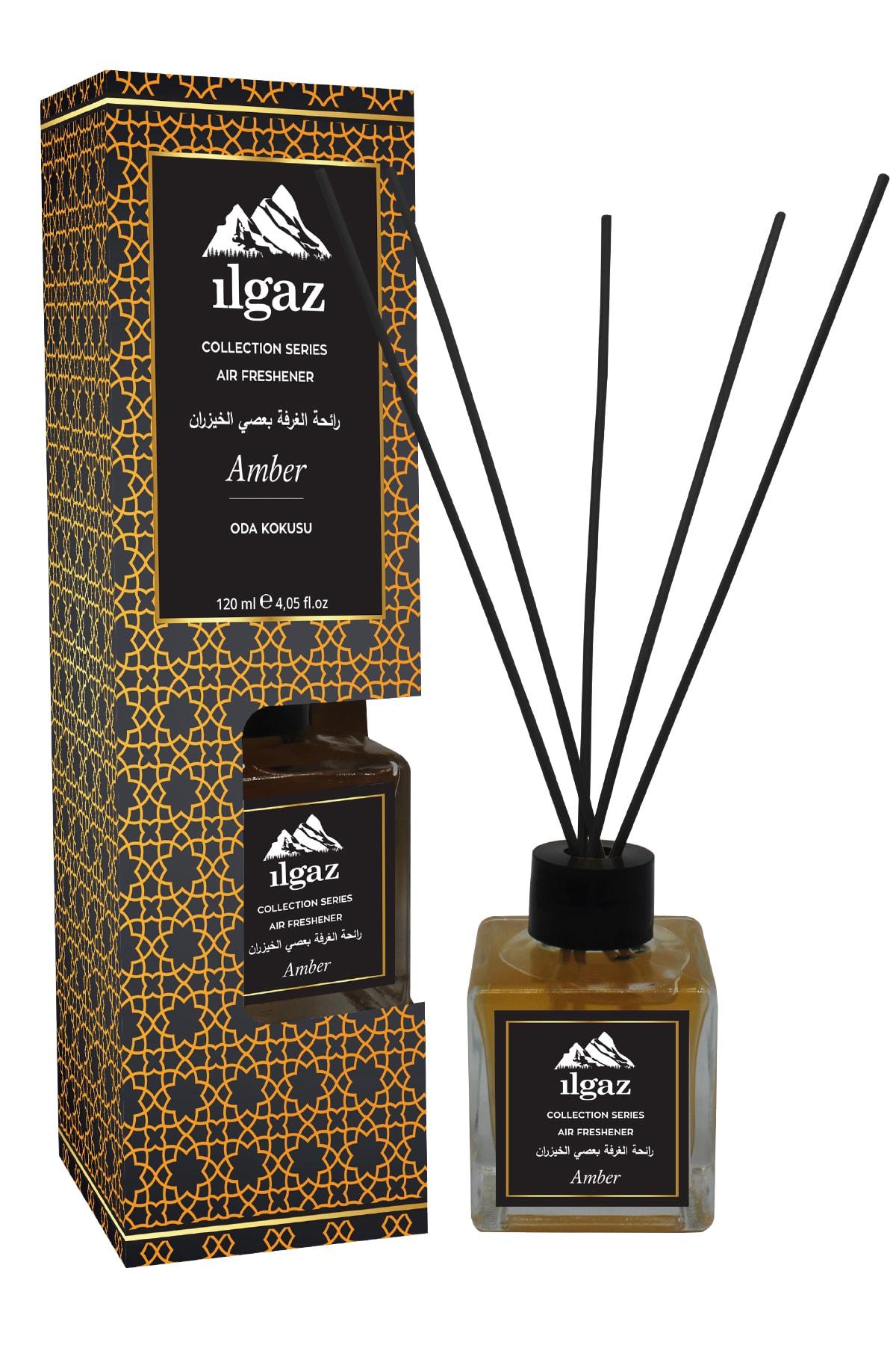 Collection Misk Amber Oda Kokusu Bambu Çubuklu Oda Parfümü 120 ml