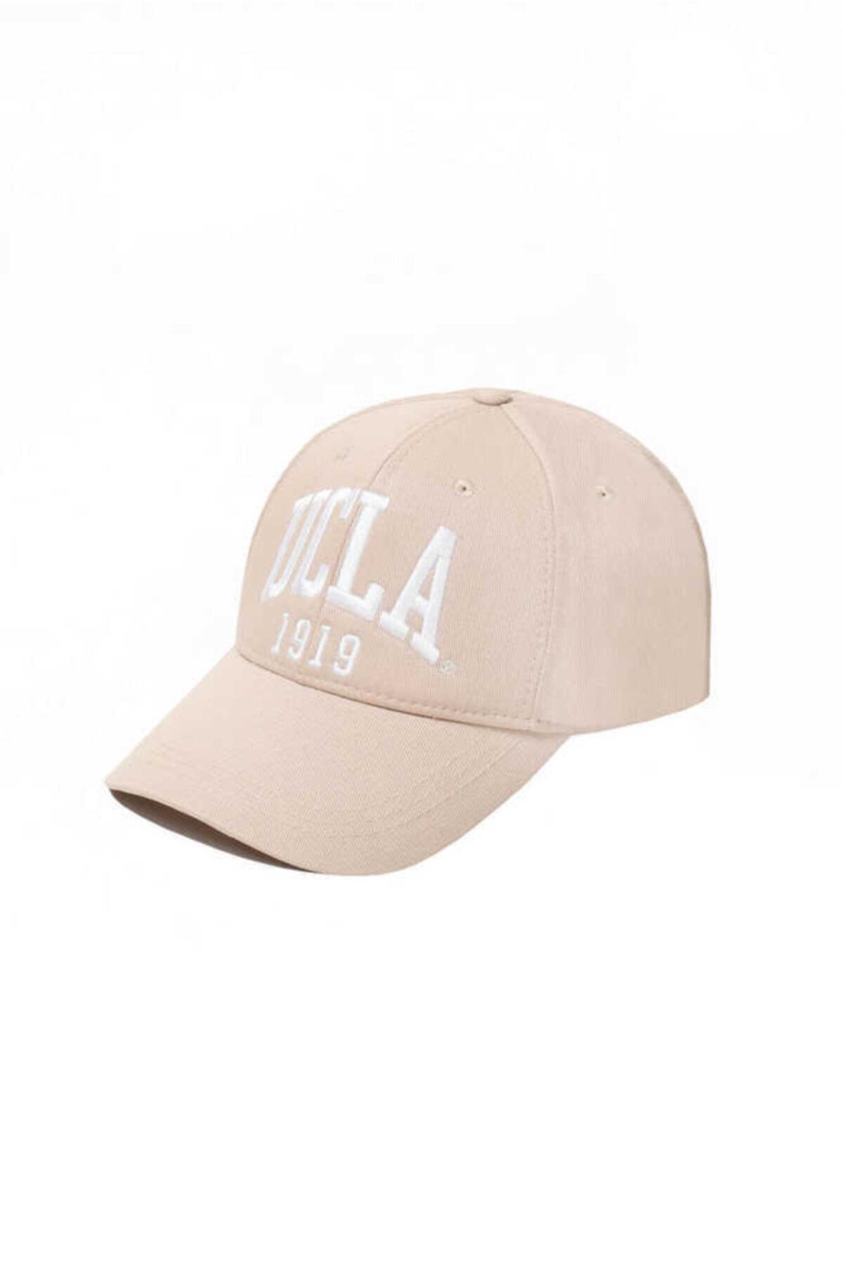 Ballard Bej Baseball Cap Nakışlı Şapka