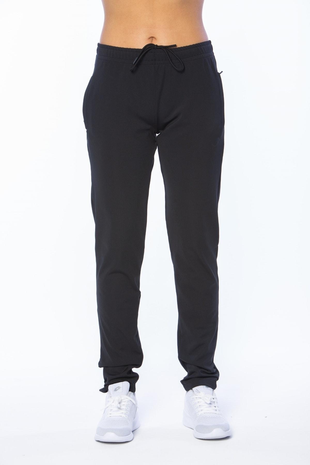 Eşofman Altı Siyah Kadın Belen Pantolon  Pl W