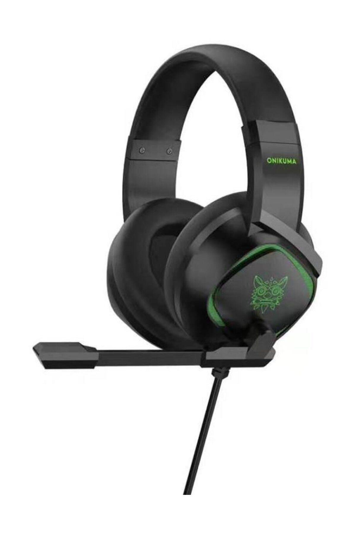 Profesyonel Oyuncu Kulaklığı Telefon Uyumlu Gaming Kulaklık Siyah Renkli Led Pc/ps4 Xbox Uyumlu