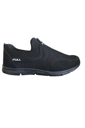 Erkek Siyah Bez Rahat Spor Ayakkabı 11113